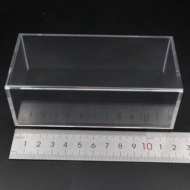 Model Car Acrylic Case Display Box Transparent Dustproof With Black Base 1/64 1/43 1/32 1/18 1/24