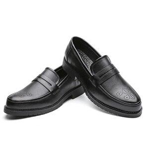 Image 2 - גברים שמלת נעלי מבטא אירי סגנון Paty עור חתונה נעלי גברים עור נעלי אוקספורד נעליים רשמיות