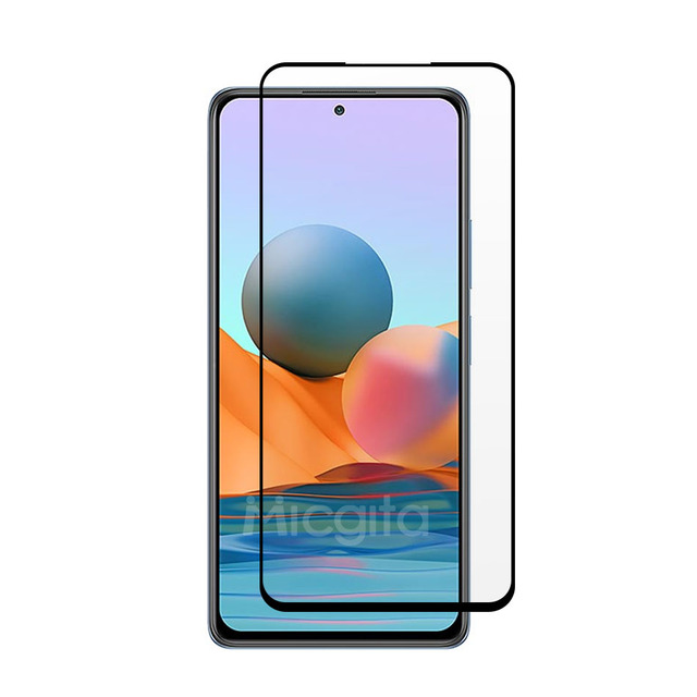6 in 1 Tempered Glass For Xiaomi Redmi Note 10 Pro Note 10S 10 5G Screen Protector Camera Lens Film For Redmi Note 10 Pro Glass 2