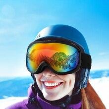 Лыжные очки для сноуборда для мужчин/женщин, очки для сноуборда, очки с двойными линзами, антибликовые очки с защитой UV400