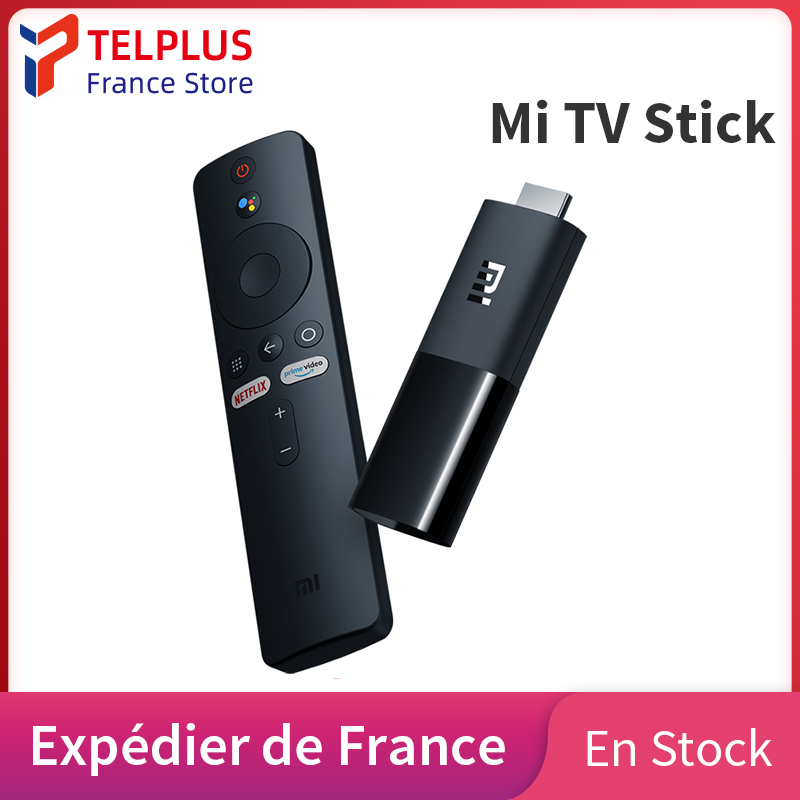 Original mundial Xiaomi Mi TV Stick Android TV 9,0 Quad Core HD 1080P decodificación de Audio Chromecast Asistente de Google Netflix 1GB 8GB