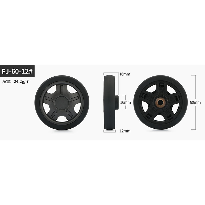 Rolley Suitcase Parts Luggage Suitcase Wheels Replacement Repair  For Accessories Casters  Replacement Wheels