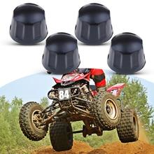 Резиновые пылезащитные гайки для квадроциклов, 4 шт., защита от пыли для 50cc 70cc 110cc 125cc Quad Bike ATV Go Kart и т. д., аксессуары для квадроциклов