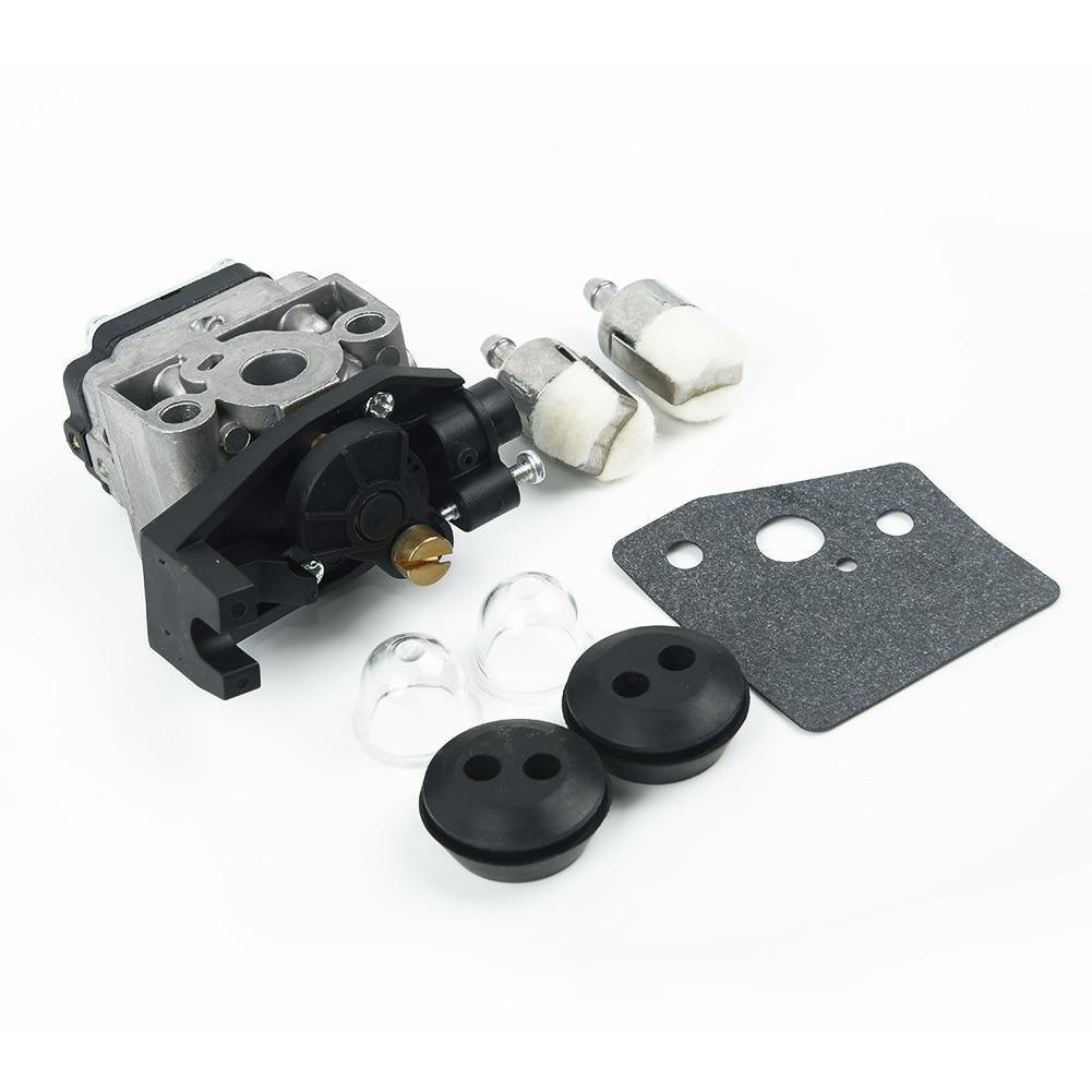 Shioshen Junta de carburador buj/ía combustible l/ínea manguera Kit para GX35 Honda GX25 GX 25 35 HHT35 HHT35S FG110 cortasetos cortac/éspedes motor