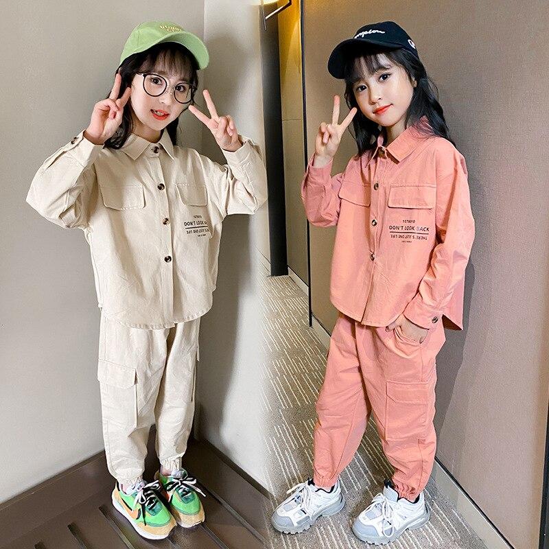 Children's Clothing Girls' Suit Autumn New 2021 Little Girl D10.15 1