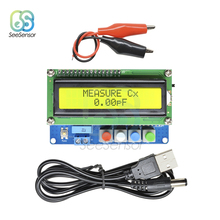 цена на Digital LCD Capacitance Meter Inductance Table Tester LC Meter Frequency 1pF-100mF 1uH-100H LC100-A with Test clip