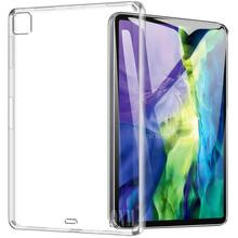 Case For iPad Pro 11 2020 TPU Silicone Clear Ultra Thin Soft Case for Apple