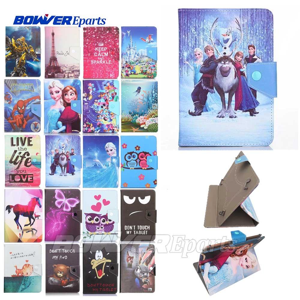 Universal Cartoon Fall Für Archos Core 101 3G V2 FÜR Sony Xperia <font><b>Tablet</b></font> Z LTE 10,1 inch stand Abdeckung image