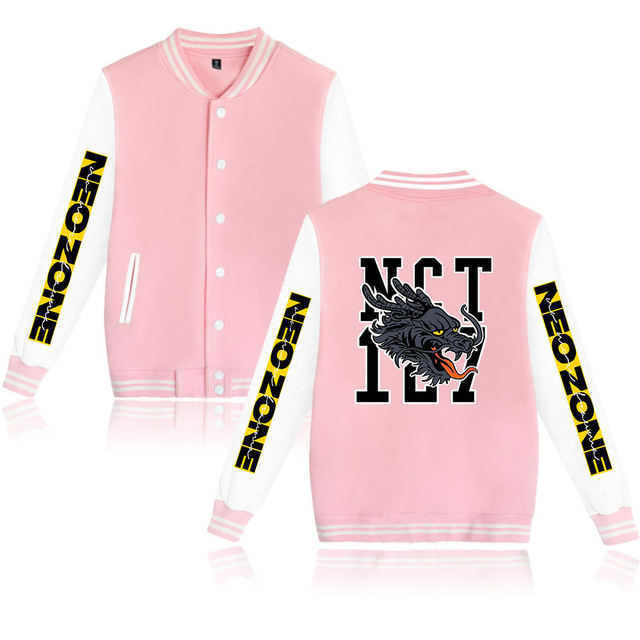 NCT 127 NEO ZONE THEMED BASEBALL JACKET (24 VARIAN)