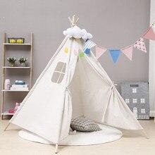 Палатка-вигвам для детей, 10 видов, 1,35 м