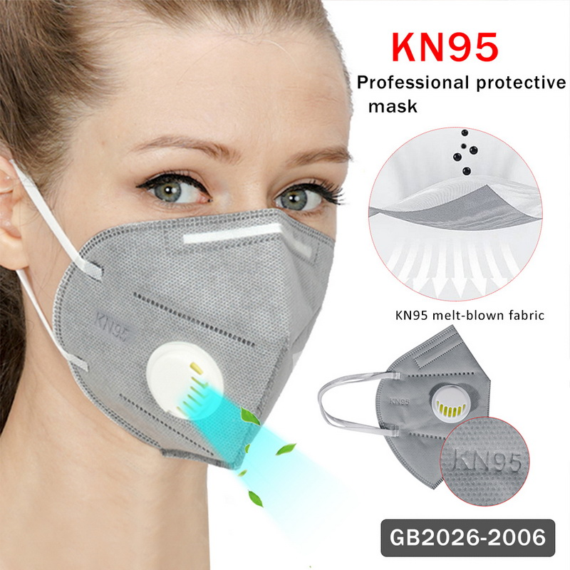10Pcs Prevent Flu KN95 Face Mask N95 Respirator Dust Mouth Masks Formalde Hyde Bacteria Proof Safety As KF95 Dropshipping
