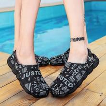 Crocse Men's Summer Hole Shoes Sandals Breathable Unisex Outdoor Non-Slip Beach Slipper fashion ligh