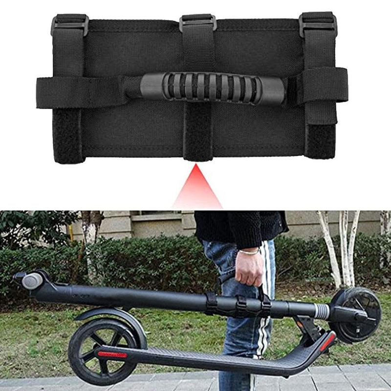 Nylon Scooter Hand Carrying Straps Portable Foldable Electric Bike Handle Belts for Xiaomi Bike