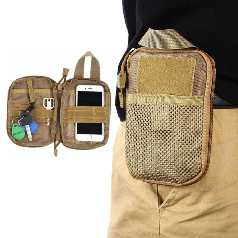 Tactical Molle Pouch Military Medical Pack Hunting Backpack Accessories Multi-function Commuter Small Key Phone Waist Bag