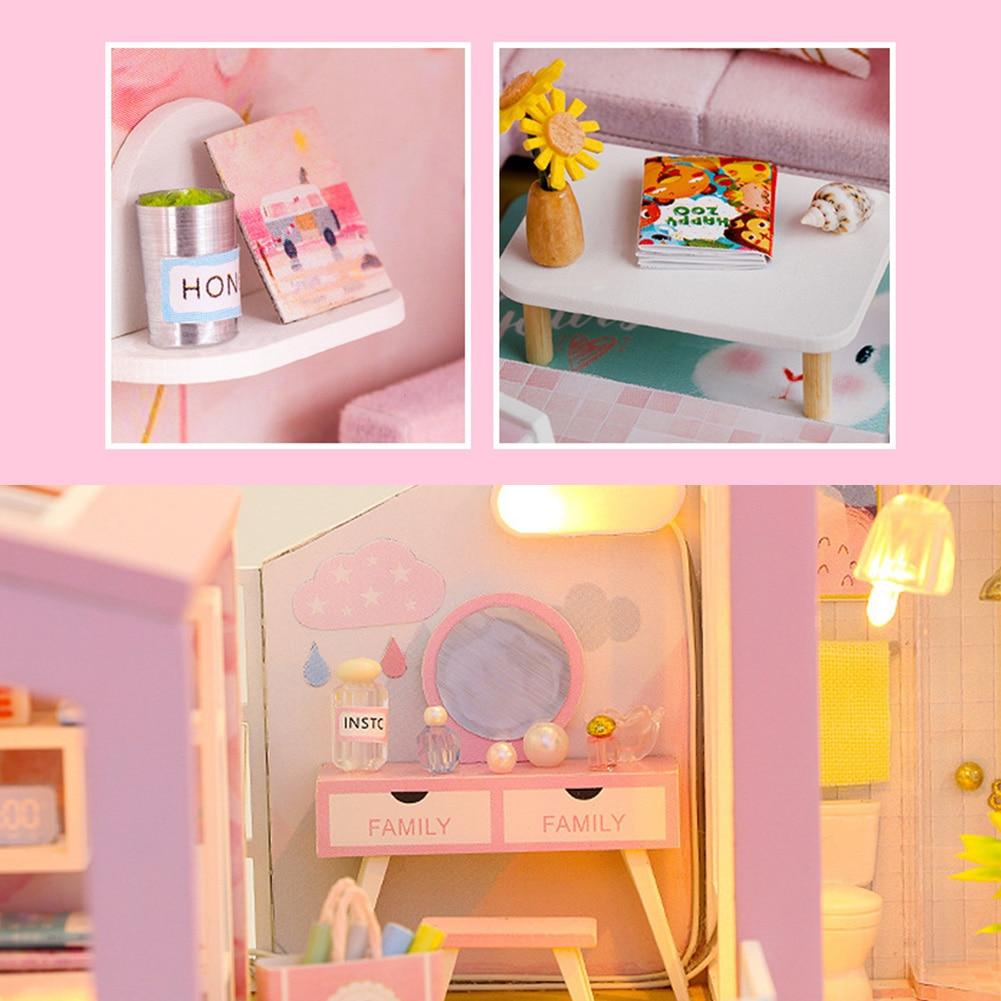 H72df234bd2c248bd9ecc5382e0b42f316 - Robotime - DIY Models, DIY Miniature Houses, 3d Wooden Puzzle