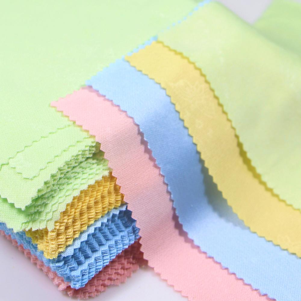 18pcs Glasses Cleaning Cloth 18 colors Lens Cloth Wipes For Lens 18