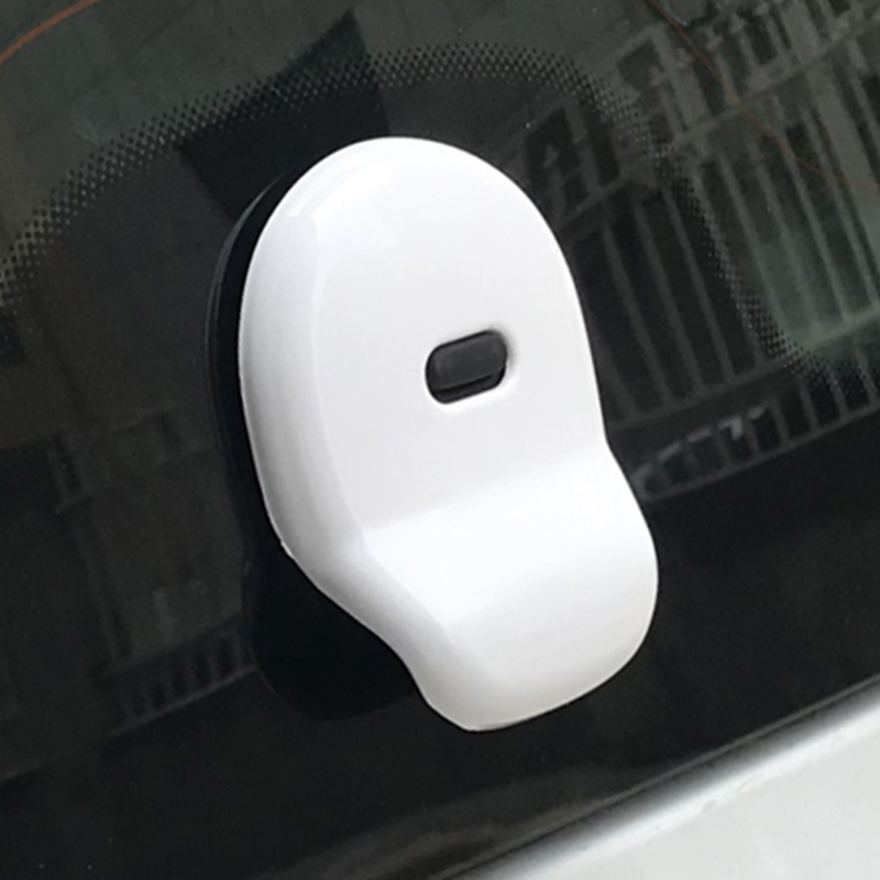 Car Trunk Door Handle Cover Rear windshield Sticker For Mercedes Smart 453 fortwo Car Exterior Decoration Styling Accessories