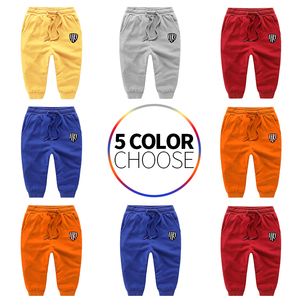 Image 1 - Autumn winter Boys Pants Cotton Warm teen Clothes Party Toddler Comfortable Soft Trousers For Children Kids Costume leggings