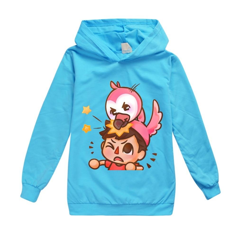 Kids Boys Sweatshirt Flamingo Flim Flam Hoodie Spring Street Sonic Hooded Trendy Fashion Girl Jacket Children Pullover Tops 3