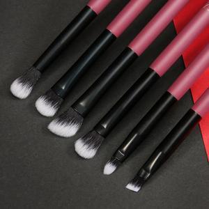 Image 4 - Ducare 10 個化粧ブラシセットパウダーファンデーション蛍光目ブラシメイクアップバッグ