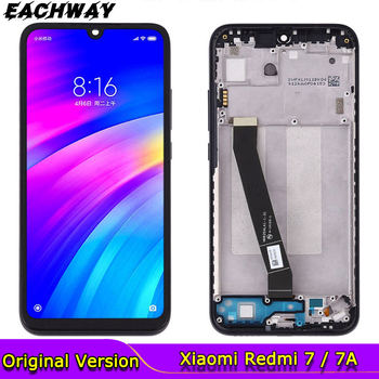 for Xiaomi Redmi 7 LCD Redmi 7A Display Touch Screen Digitizer With Frame Replacement Parts Snapdragon 632 Redmi 7 LCD Screen