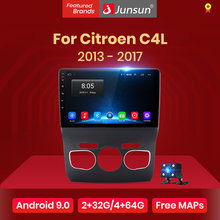 Junsun V1 2G + 32G Android 9.0 Per Citroen C4L 2013 - 2017 Auto Radio Multimedia Video Player di navigazione GPS 2 din dvd(China)