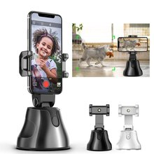 Portable All-in-one Auto Smart Shooting Selfie Stick ,  360 Rotation Auto Face Tracking Object Tracking vlog Camera Phone Holder particle filters for object tracking