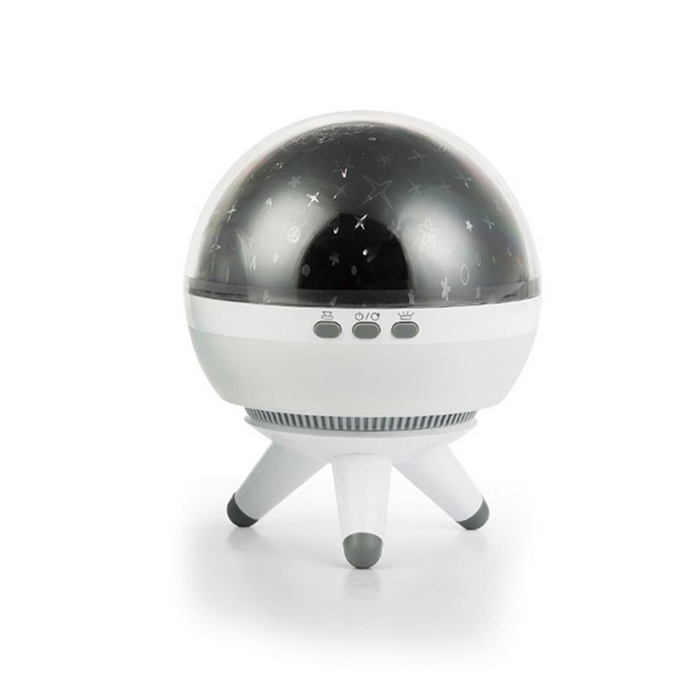 360 Degree Adjustable Turntable Rotating Projector USB LED Night Light Starry Sky Star For Children Room Sleep Romantic Lamp
