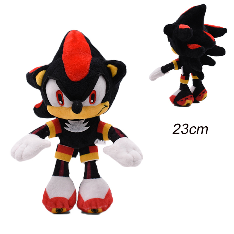 30cm Sonic Plush Doll Toys Hot Sale Sonic Shadow Amy Rose Cotton Soft Stuffed Game Doll Toys For Kids Chris Gift For Kids 5