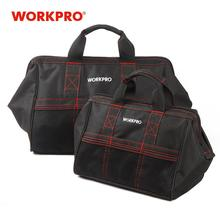 "WORKPRO 2 Piece Tool Bag Combo 13"" & 18"" Tools Bags Waterproof Travel HandBags Sturdy Bags"