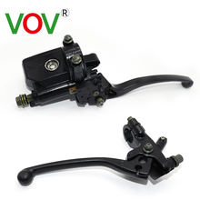 Universal Motorcycle Front Brake Clutch Master Cylinder Motorbike Hydraulic Pump Motorbike Brake Lever Motorcycle Accesories motorcycle cable clutch hydraulic brake clutch pump master cylinder handle lever with electric contactor for stoplight with logo page 7