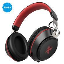 Oneodio Bluetooth אוזניות על אוזן קווית אלחוטי אוזניות עם מיקרופון Bluetooth 5.0 סטריאו אוזניות עבור טלפון מוסיקה