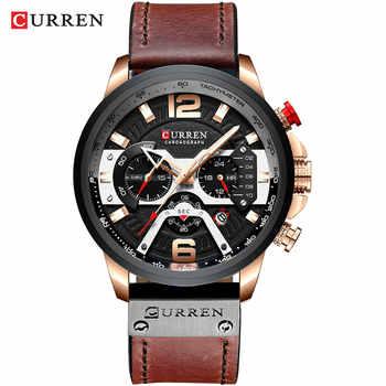 Curren Quartz Watches rose black watch