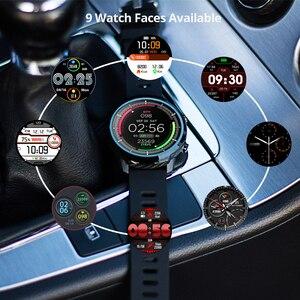 Image 4 - S10 Full touch Smart Orologio da Uomo Impermeabile di Sport Orologio della Frequenza Cardiaca Monitor Previsioni Meteo Smartwatch per IOS Android phone