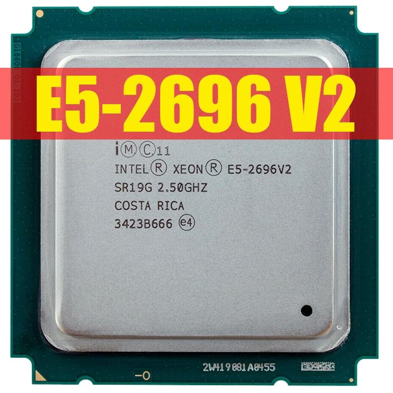 Процессор Intel Xeon E5-2696v2 E5 2696v2 E5 2696 V2 2,5 ГГц 12-ядерный 24-поточный процессор 30M 115 Вт LGA 2011 процессор