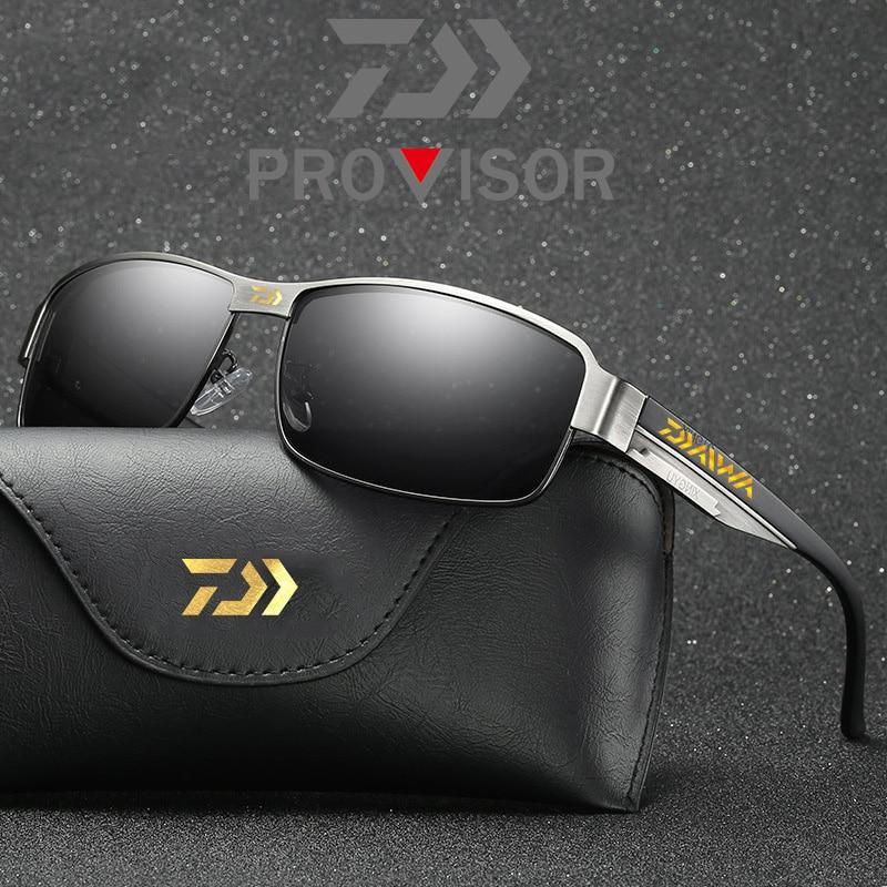 2020 nova daiwa polarizado óculos de pesca dos homens óculos de sol esporte ao ar livre óculos de condução uv400 sun daiwa óculos de pesca