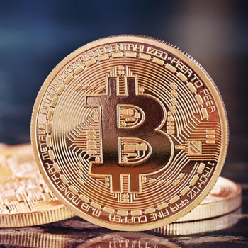 50pcs Gold Plated Bitcoin Coin Art  Souvenir Great Gift Collectible Physical Metal Bit Coin Commemorative Coin With Acrylic Box 1