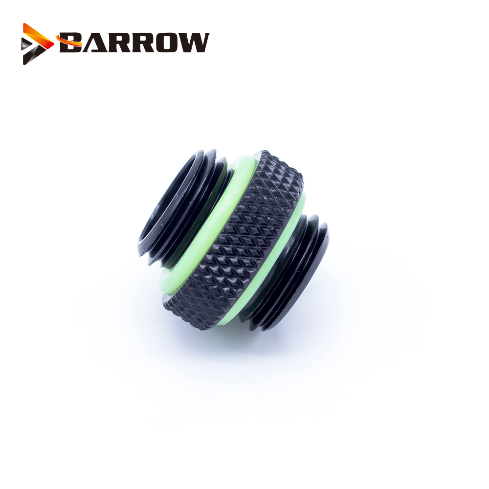 BARROW G1/4 Male To Male Rotary Connectors / Extender 5mm M To M Mini Dual Fitting Accessories Metal Fittings