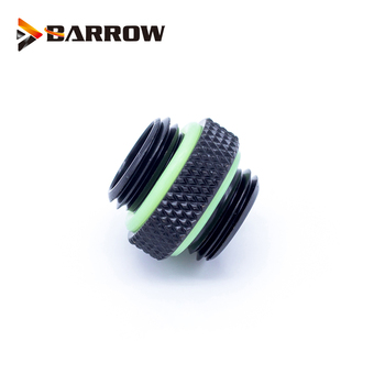 цена на BARROW G1/4 Male to Male Rotary Connectors / Extender 5mm M to M Mini Dual Fitting Accessories Metal Fittings