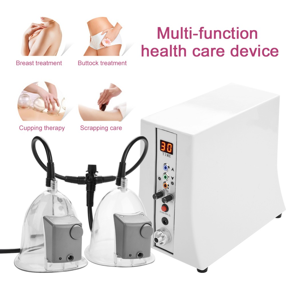 Professional Vacuum Buttocks Enlargement Breast Enhancer Massage Cup Body Shaping Beauty Equiment