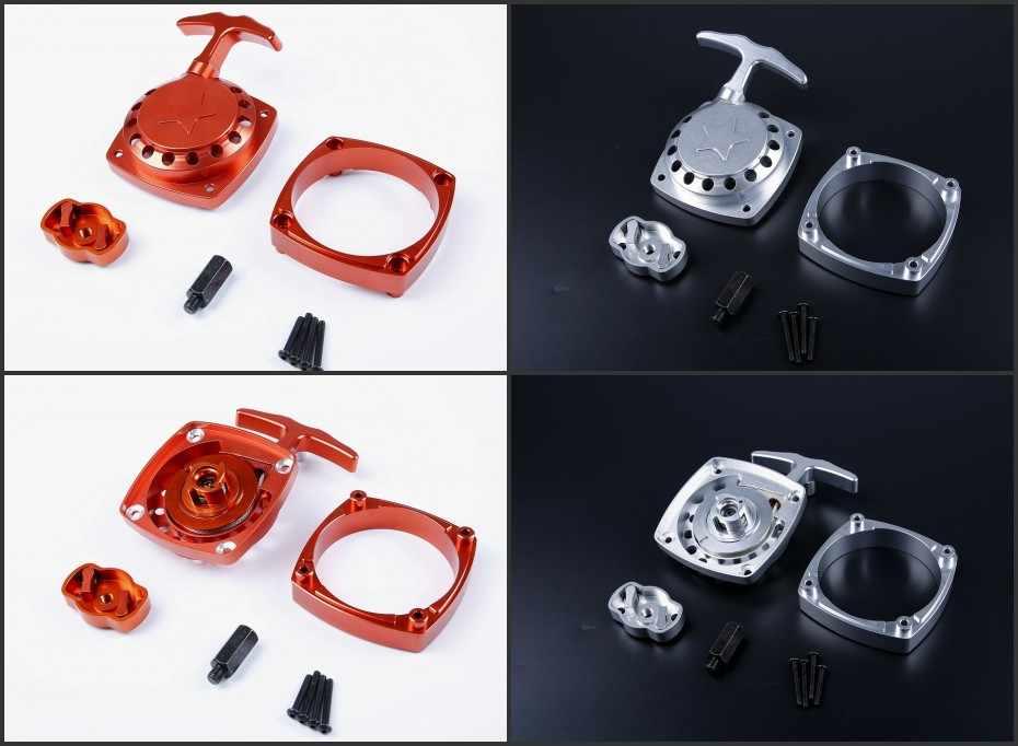 If 45cc Engine Installed Rovan Super Easy Pull Starter for 1//5 HPI ROVAN BAJA