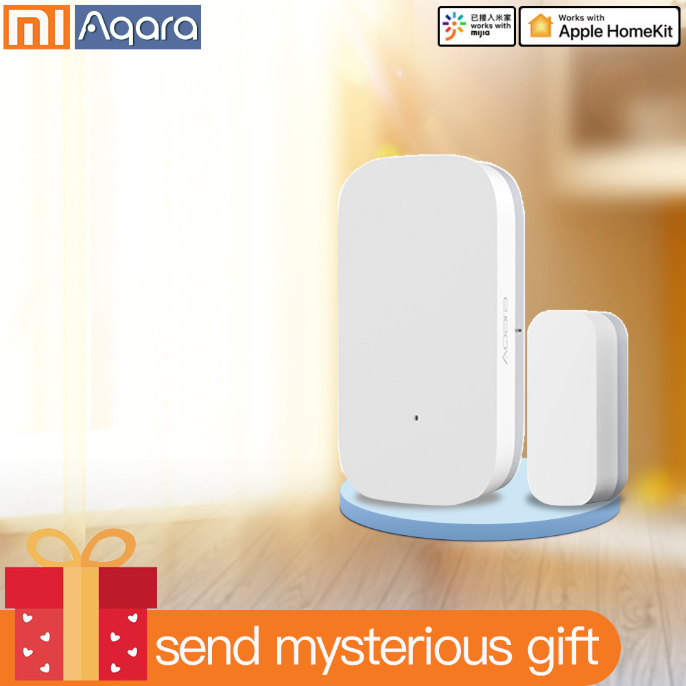 Aqara Door Window Sensor Zigbee Wireless Connection Mijia Smart Mini Door Sensor Xiaomi Smart Home For Android IOS App Control