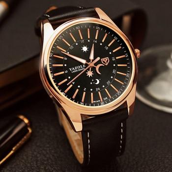 YAZOLE Men Watch Top Luxury Brand Sport Watches Mens Quartz Wristwatch Male Clock Relogio Masculino YZL368 - sale item Men's Watches