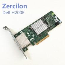 Usado original dell h200e 6gb hba sas canal cartão 2 porto ext SFF-8088 12dnw lsisas2008 = lsi 9200-8e