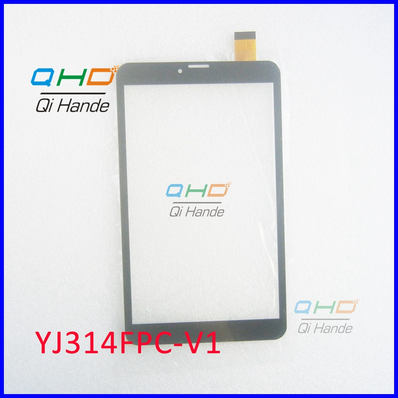Free Shipping 8'' Inch Touch Screen,100% New For YJ314FPC-V1 Touch Panel,Tablet PC Touch Panel Digitizer