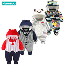 Medoboo Baby Girl Boys Clothes Jumpsuit for Newborns Babys Undershirts Overalls Children Romper Bodysuit Winter