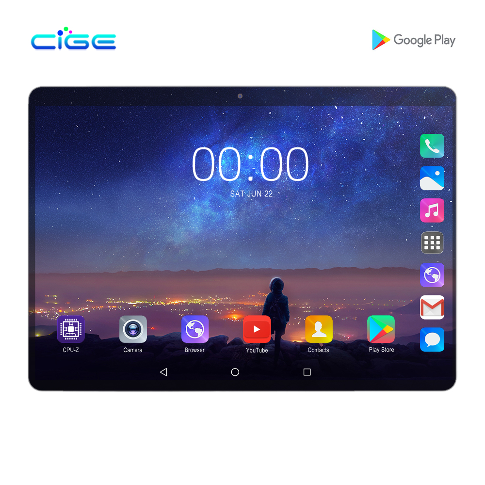 Mx960 Tablet PC 10.1 Inch 4G Lte Phablet Dual SIM Card Tablets 8 Core 6GB+128GB IPS Screen Big Battery FM GPS Wi-Fi Bluetooth