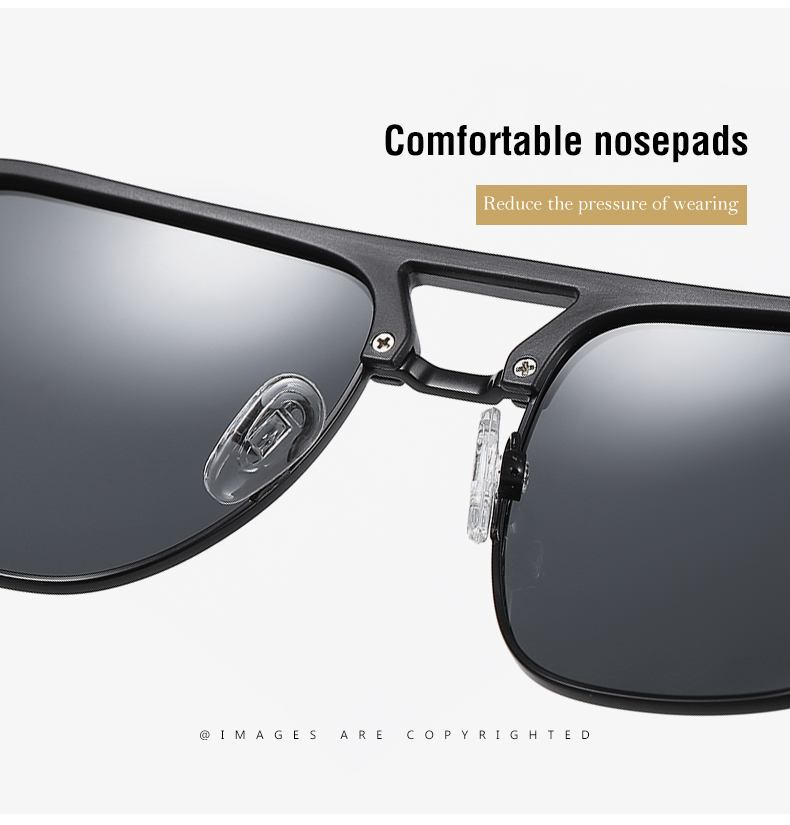 Classic Pilot Polarized Sunglasses Men Coating Mirror Sport Retro Sun Glasses Men Ride Travel Driving Fishing Eyewear Male UV400 (5)