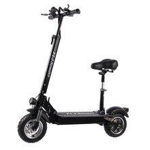 FLJ Neueste Elektrische Roller für Erwachsene mit sitz 48 V/1200 W/500 W kick roller faltbare große rad electro bike