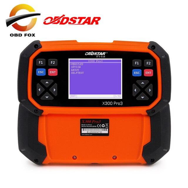 OBDSTAR X300 PRO3 Key Master OBDII Key Programmer X300 pro 3 for toyota H chip Odometer Correction Tool EEPROM/PIC Online Update